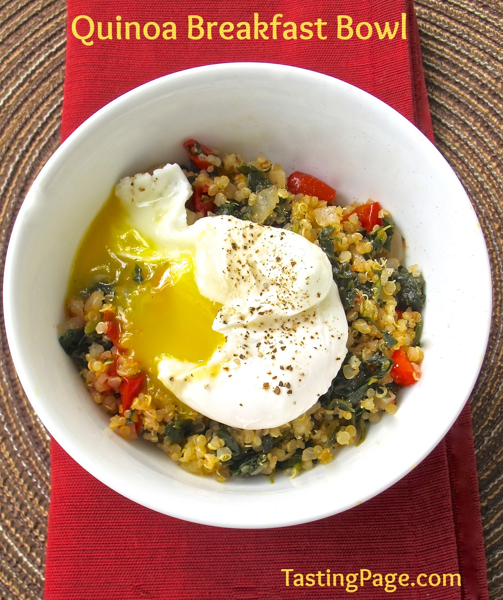 Quinoa Breakfast Bowl - part of the 15-minute Quinoa Breakfast Recipes Roundup!