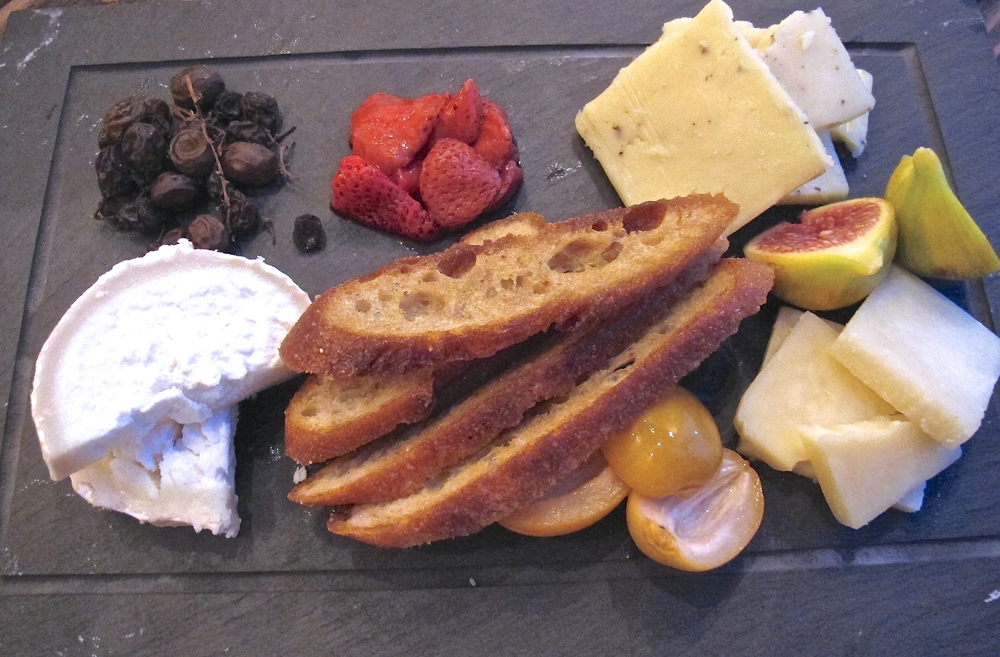 The Anchor cheese plate