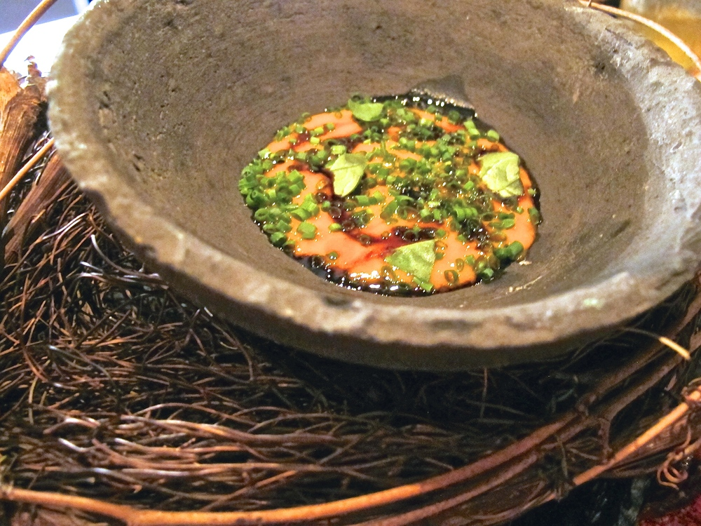 Gadarene Swine tomato course