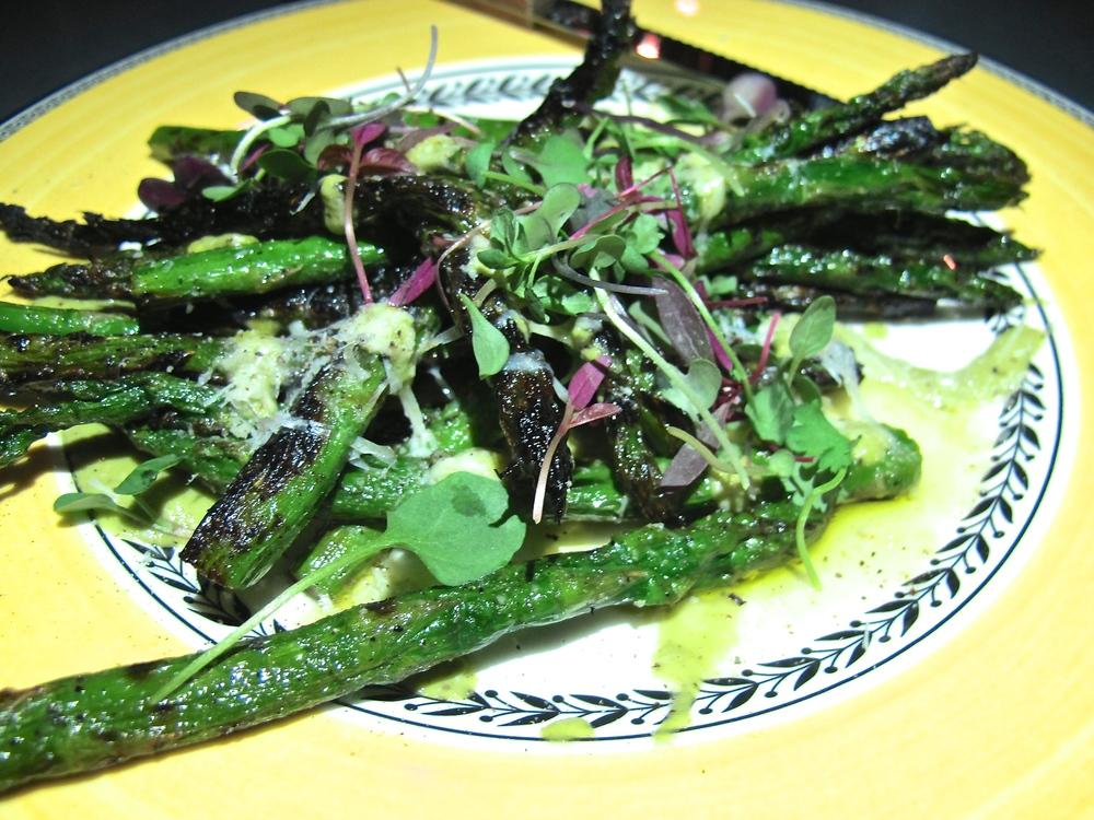 Commissary Line Hotel asparagus