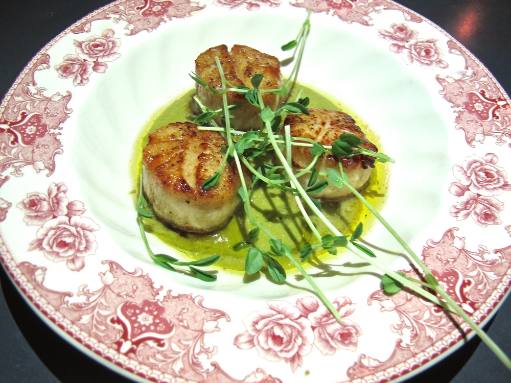 Commissary Line Hotel scallops