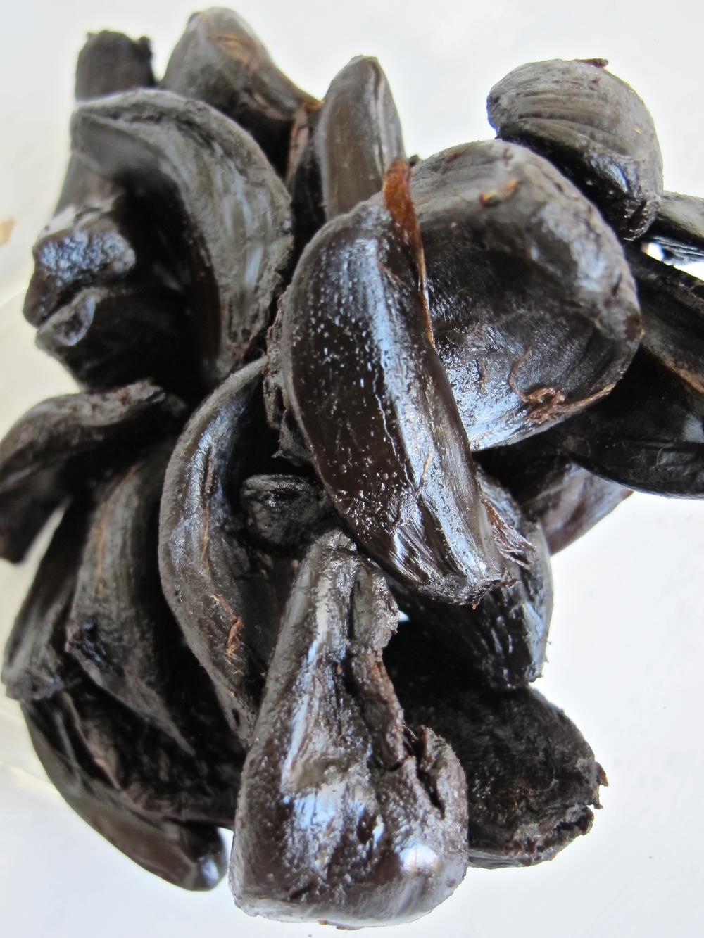 black garlic vinaigrette