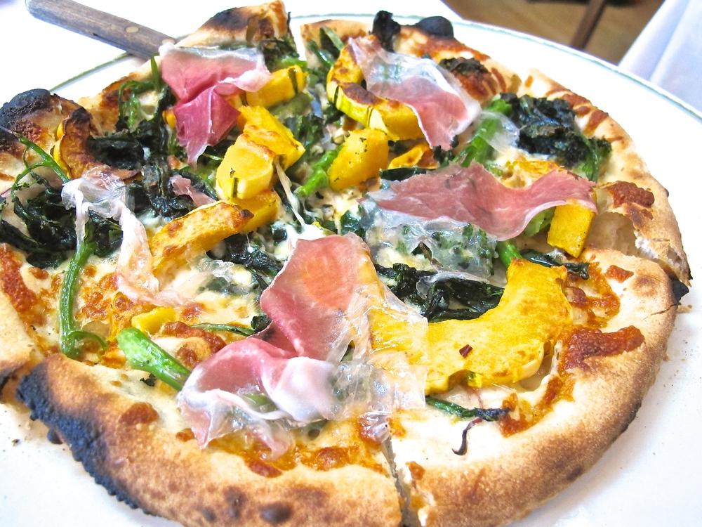 Chez Panisse pizza