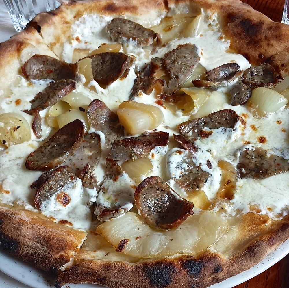 Pizzeria Bianco fennel sausage pizza
