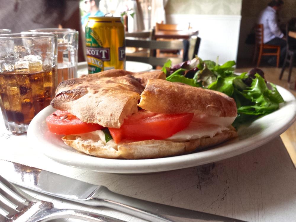 Pizzeria Bianco caprese sandwich