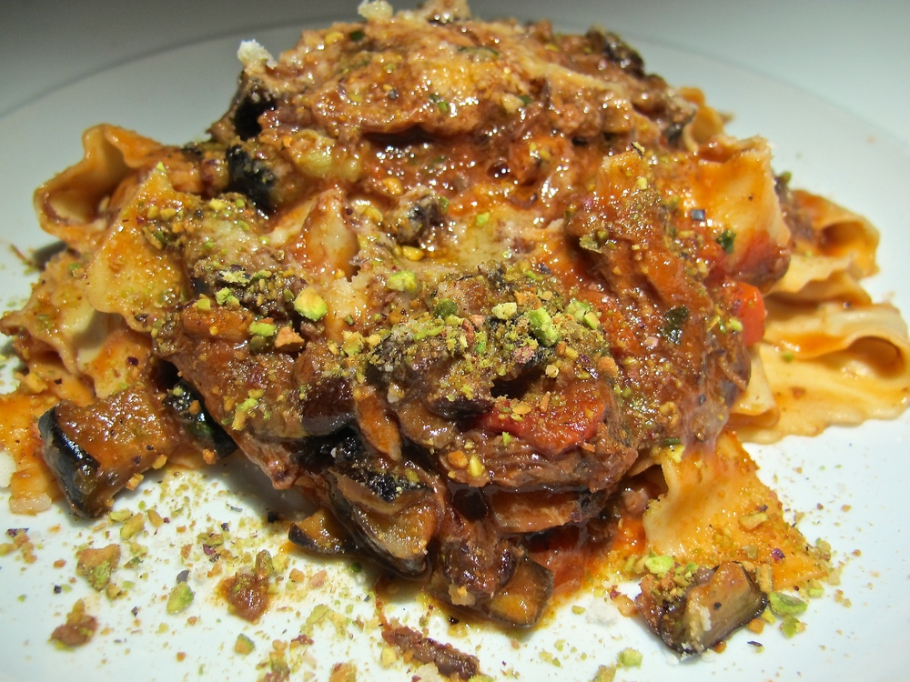 Jiraffe Restaurant lamb bolognese