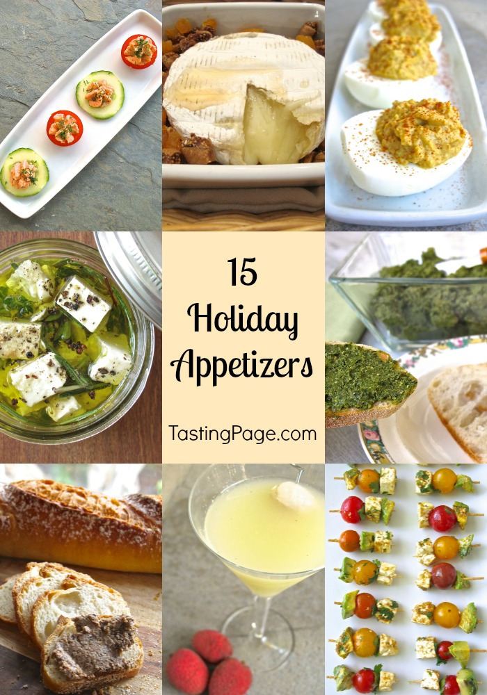15 Holiday Appetizers