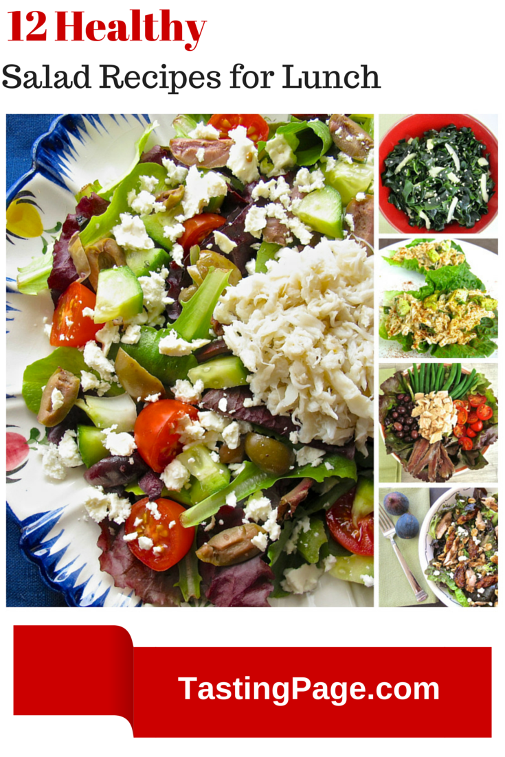 healthy salad recipes for lunch