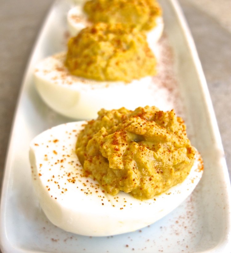 Zesty Avocado-Lime Deviled Eggs | Tasting Page