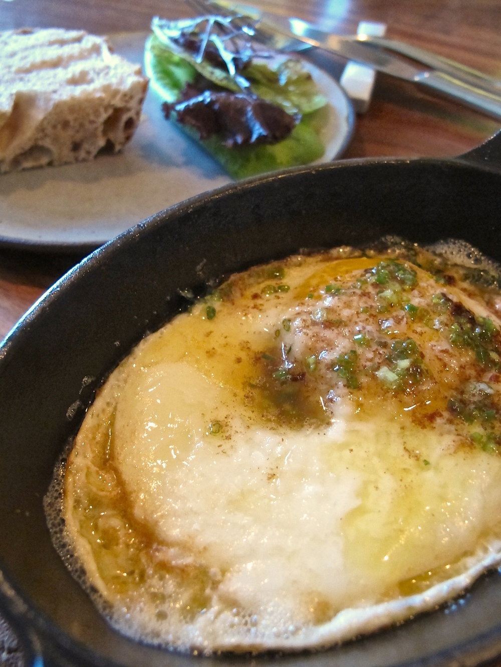 Gary Menes' Le Comptoir egg in brown butter