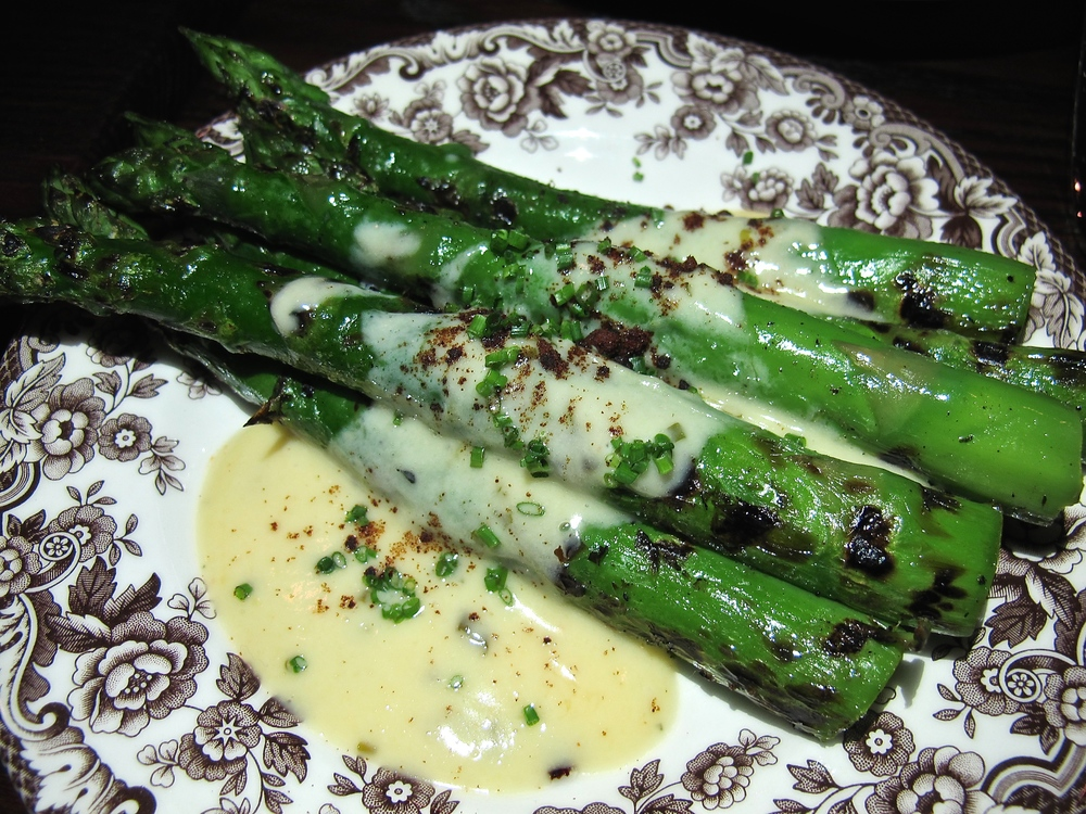 Ox and Son Montana Ave asparagus