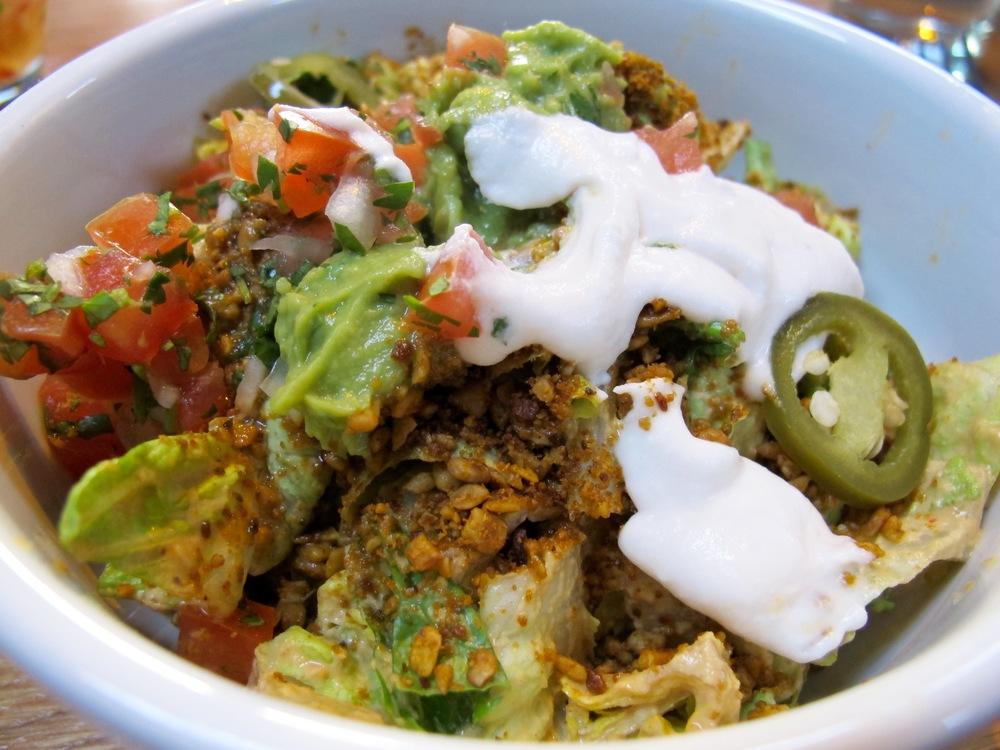 The Springs LA raw vegan salad