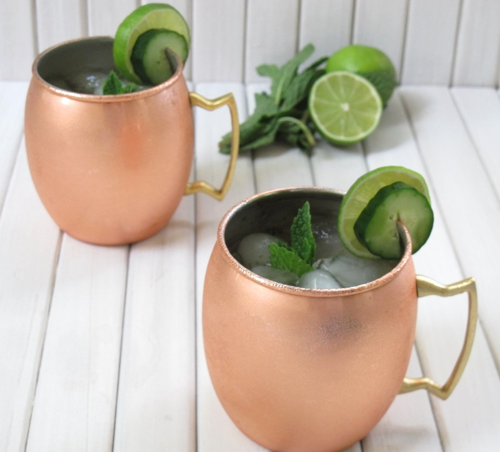 Jalapeno Mint Moscow Mule | Tasting Page
