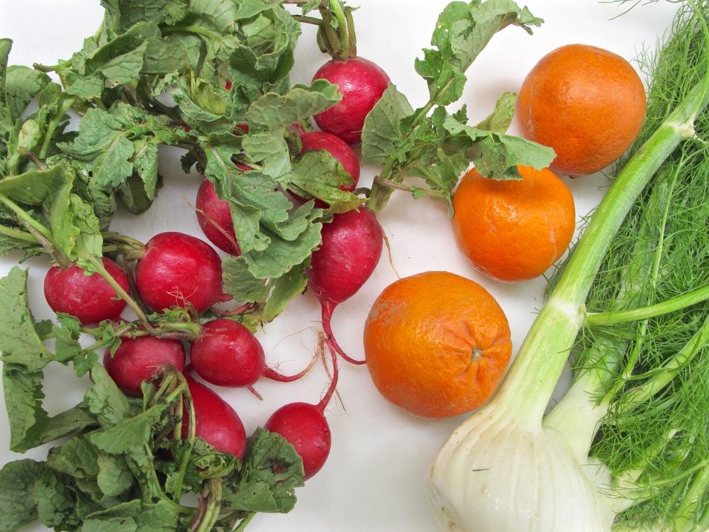 Fennel Radish Citrus Salad