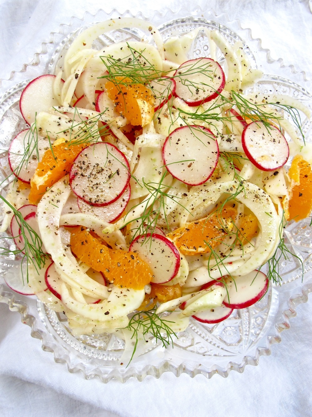 Fennel Radish Citrus Salad