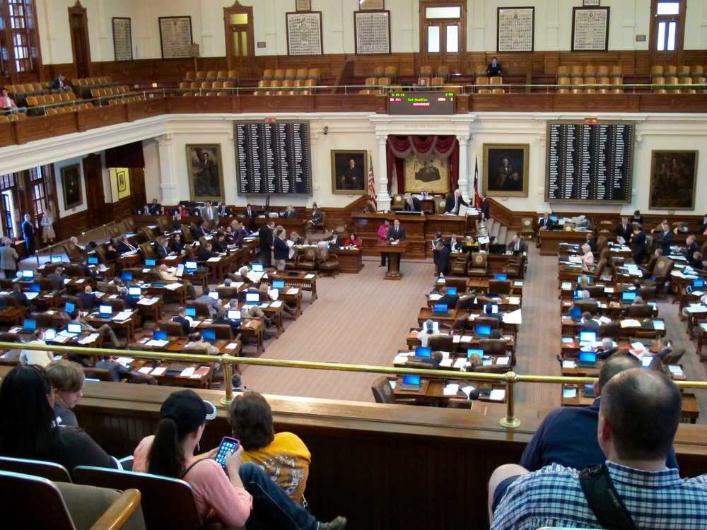 Texas State Capitol Legislative Session