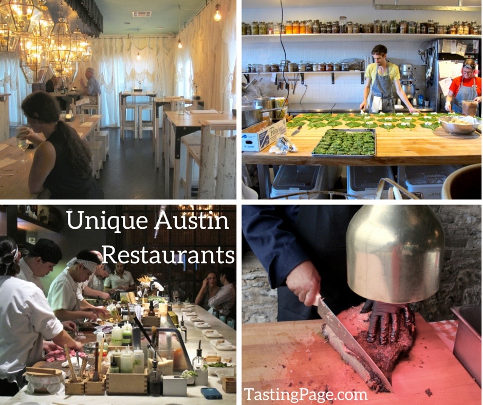Unique Austin Restaurants
