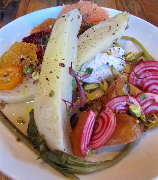 Barnyard Venice beet salad
