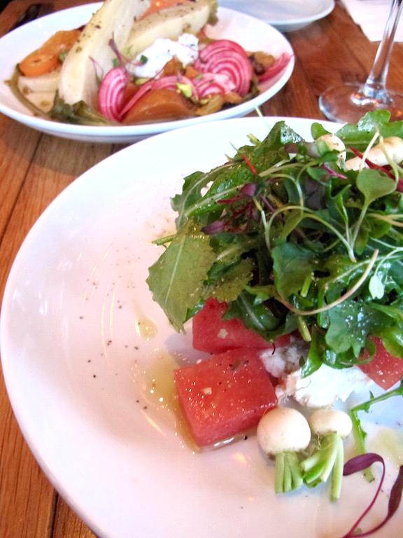 Barnyard Venice salads