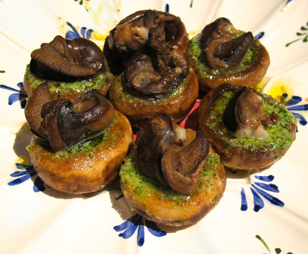 Escargot Stuffed Mushrooms on recipe for escargot
