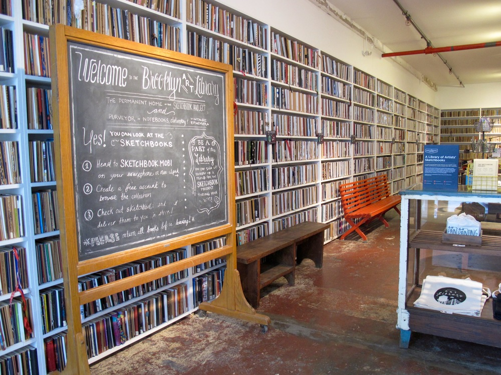 The Brooklyn Art Library