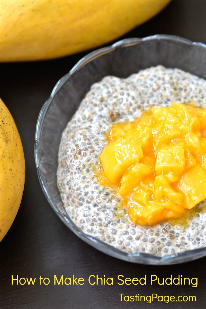 How to make chia seed pudding - gluten free, dairy free | TastingPage