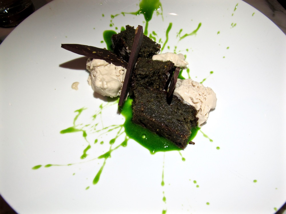 Plant Food and Wine chlorella olive oil cake