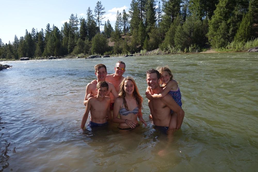 Montana water fun