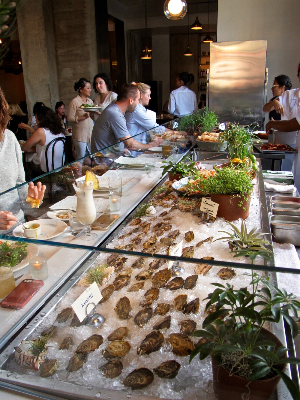 Cassia raw bar