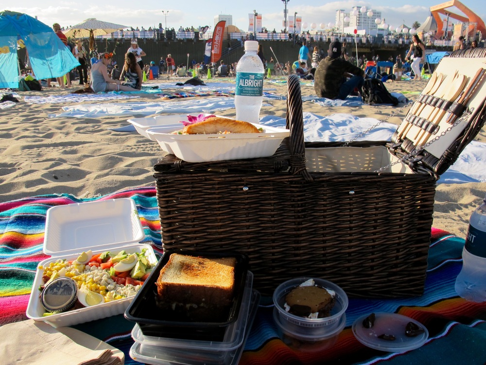 The Albright picnic basket