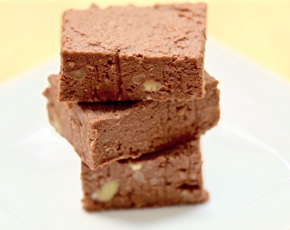 Lentil Walnut Fudge