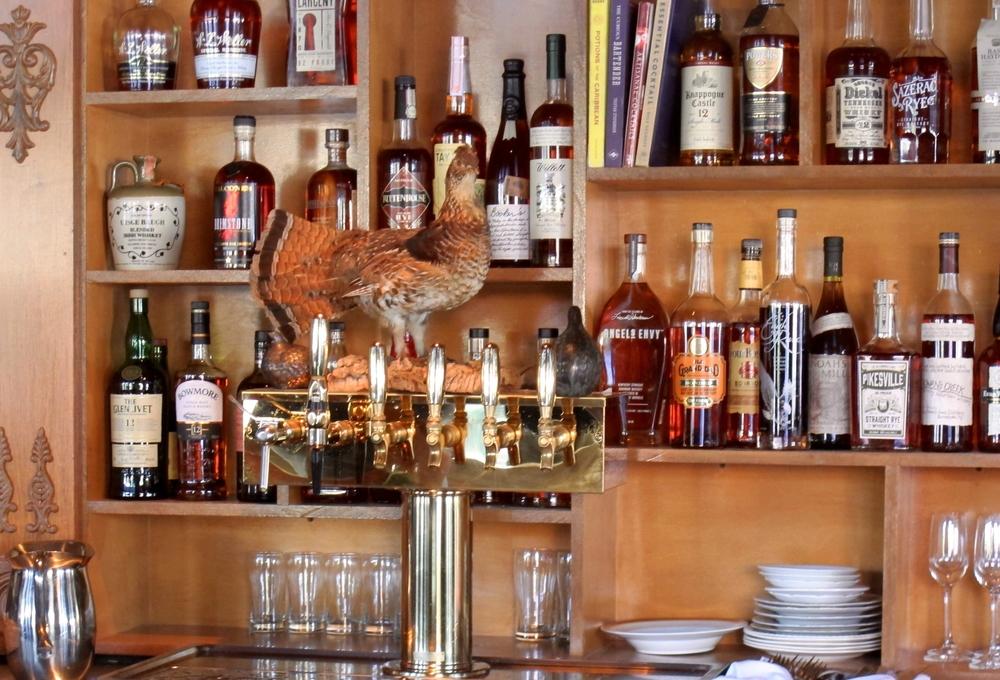 Hatchet Hall's bar