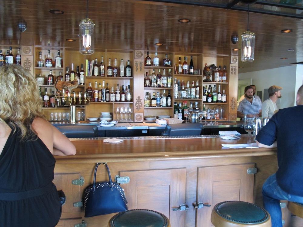 Hatchet Hall's main bar