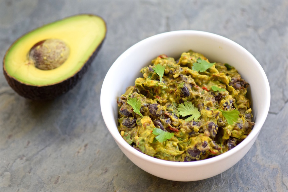 Spicy Black Bean Avocado Dip | TastingPage.com