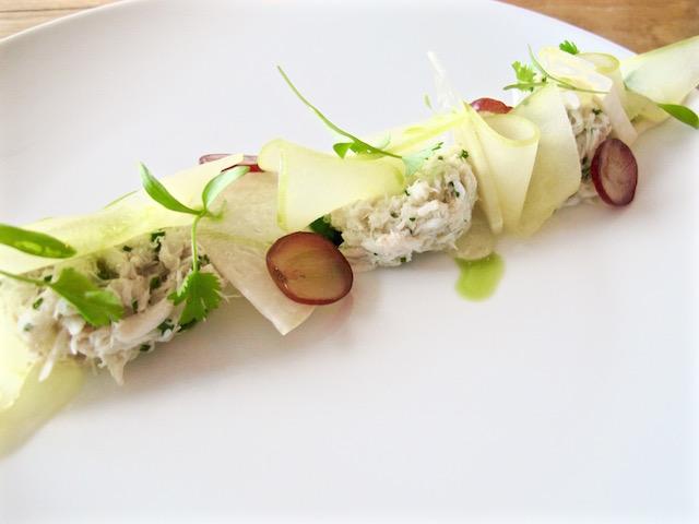 Fundamental LA crab salad