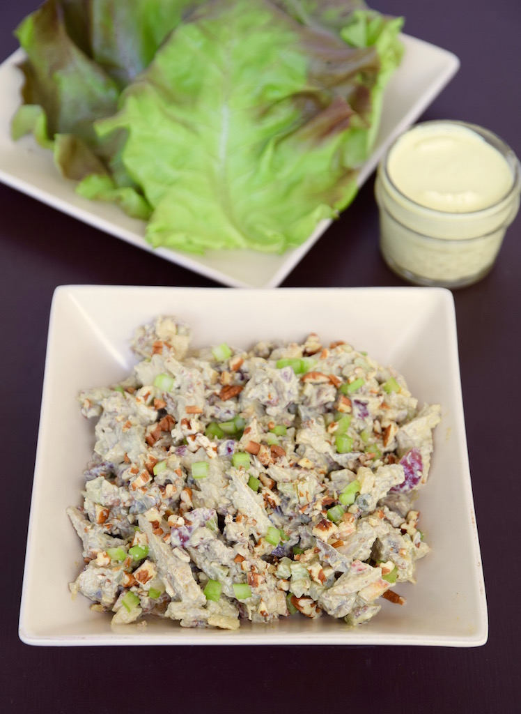 Curry Chicken Salad Without Mayo | TastingPage.com