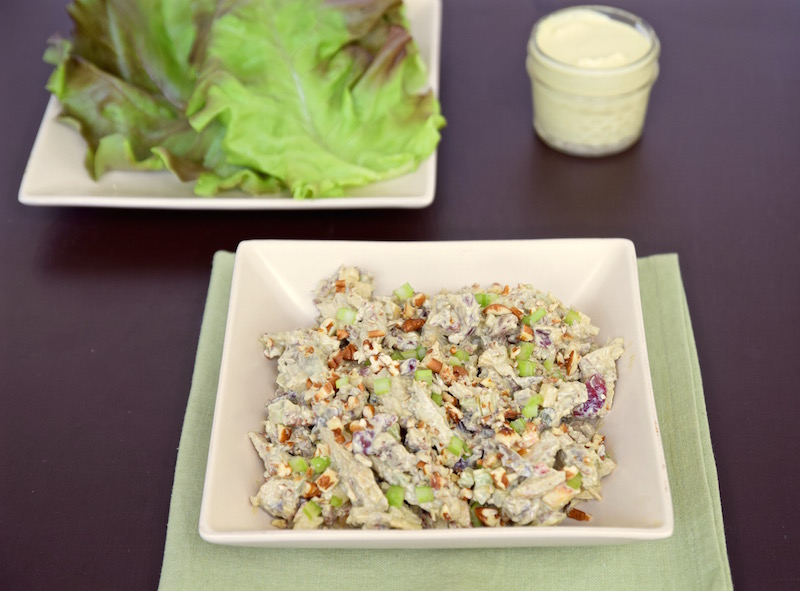 Curry Chicken Salad, Mayonnaise Free | TastingPage.com