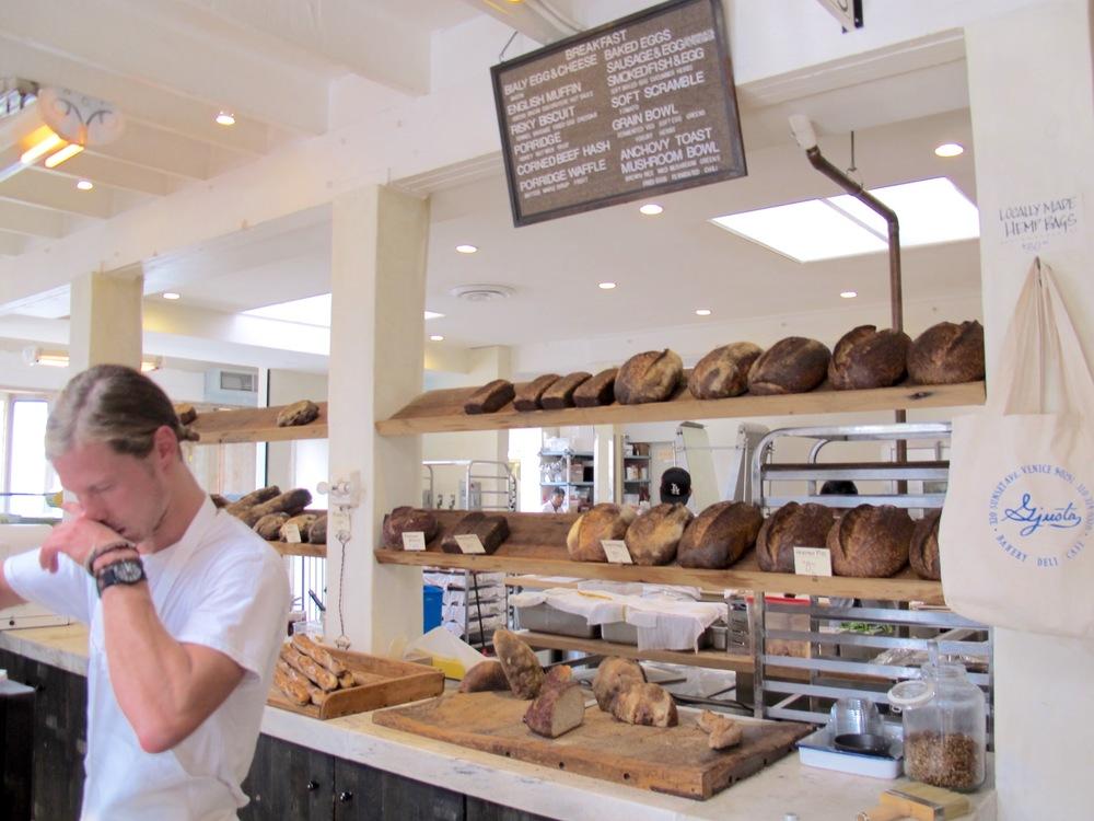 Gjusta bread
