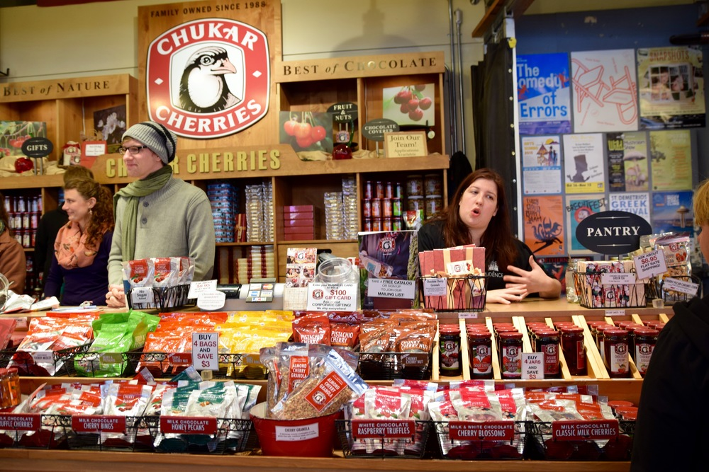 Seattle's Pike Place Market Chukar Cherries