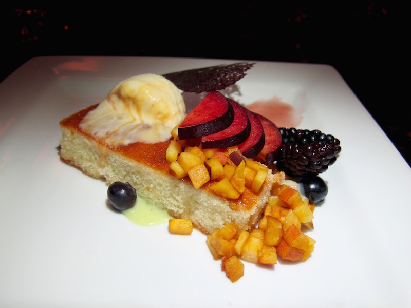 Vineyard Lounge dessert