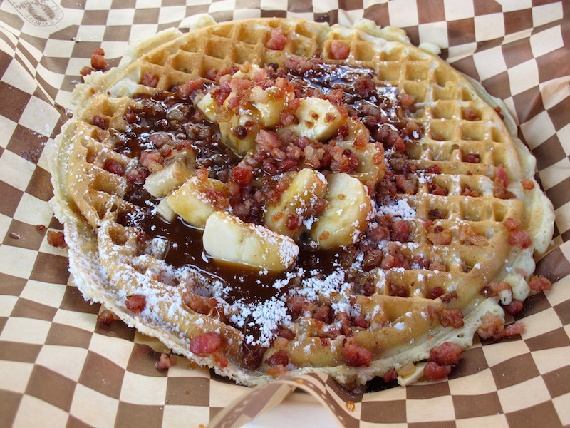 Maple Counter Waffles