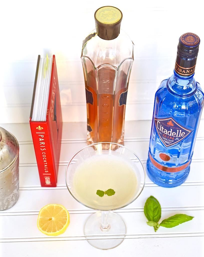 French gin gimlet | TastingPage.com