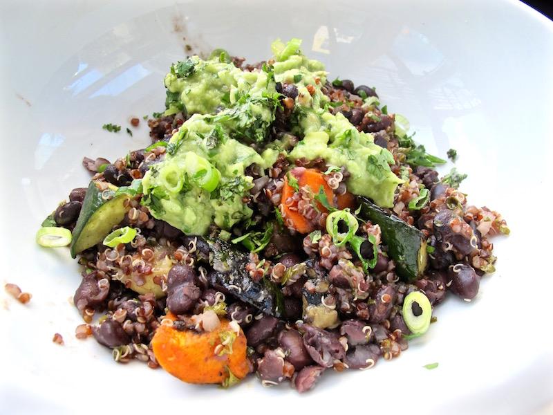 eLOVate black bean bowl