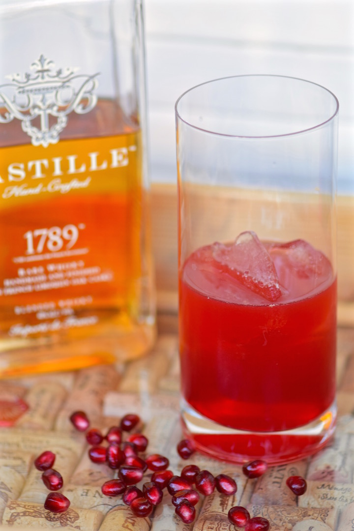 Whisky Cocktail with Pomegranate | TastingPage.com