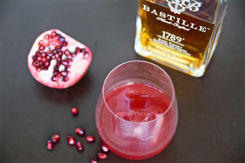 Bastille Whisky Pomegranate Cocktail | TastingPage.com