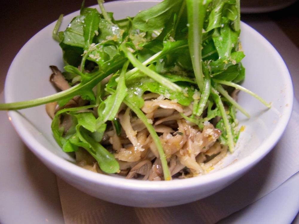 Little Pine mushroom salad