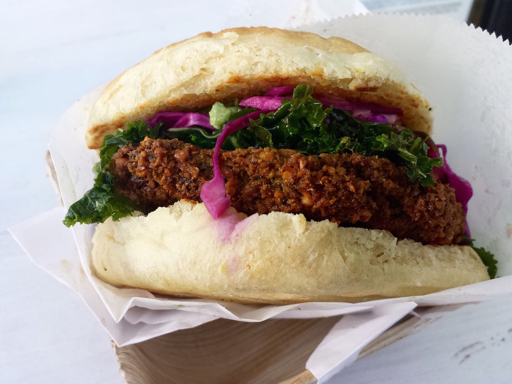 Fala Bar kale burger