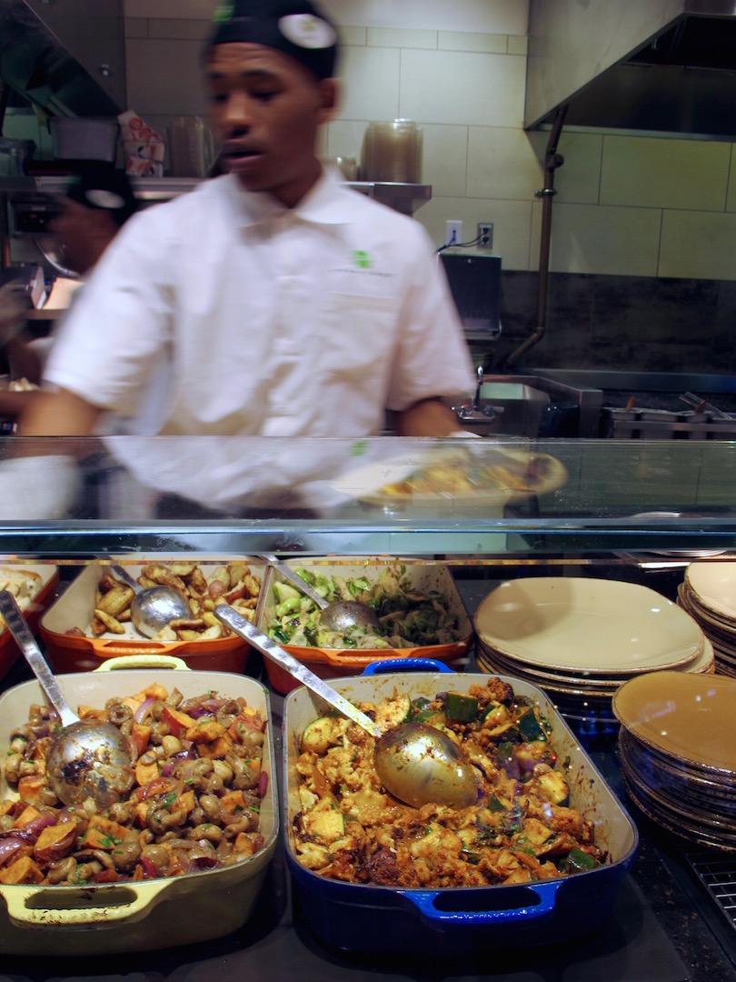 Urban Plates veggies