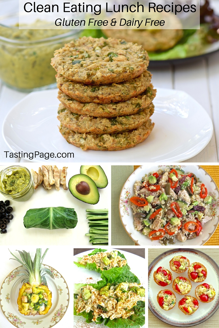 Clean Eating Lunch Recipes - Gluten Free & Dairy Free | TastingPage.com