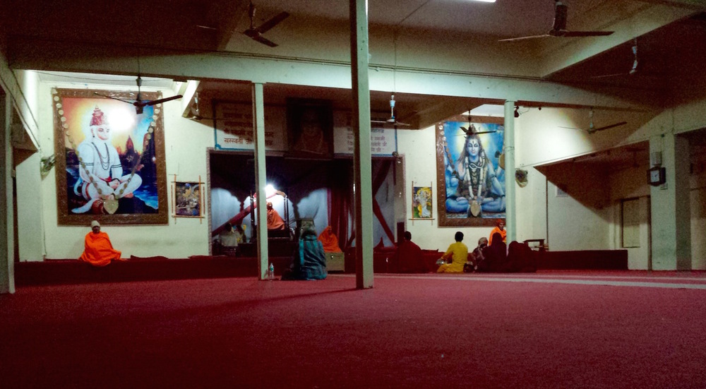 Parmarth ashram morning prayer